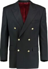 The English Hatter Mannen Bo Blazer Double Breasted Blauw Wol Maat: XL
