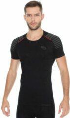 Brubeck Seamless Fitness Shirt - Heren - Zwart - L