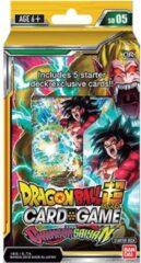 Ban Dai Dragon Ball Super TCG set 5 The Crimson Saiyan Starter Deck