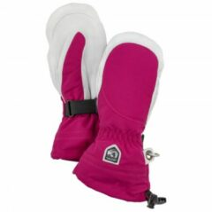 Hestra - Women's Heli Ski Mitt - Handschoenen maat 5, roze/grijs