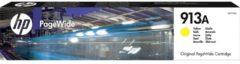 HP 913A - PageWide Inktcartridge / Geel (F6T79AE)