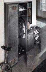 Rauch-SELECT Kleiderschrank und Kommode Industrial-Print-Optik/ graphit RAUCH SELECT Workbase