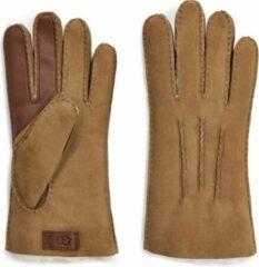 UGG Australia UGG Contrast Sheepskin Tech Heren Handschoenen - Chestnut - Maat L