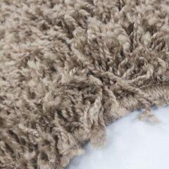 Adana Carpets Hoogpolig vloerkleed - Sade Paars 80x150cm