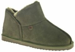 Donkergrijze Warmbat Willow Women Suede