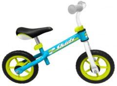 Lichtblauwe Skids Control Loopfiets - Loopfiets - Jongens en meisjes - Licht Blauw;Licht Groen - 10 Inch