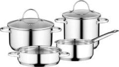 Kookmania Berghoff - 6-delige - Potten- en pannenset - Comfort - Vaatwasser bestendig - Glazen deksels