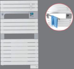 Elektrische Handdoekradiator Sauter Asama Ventilo By Van Marcke Met Ventilator 500+1000W 101x55 cm Wit