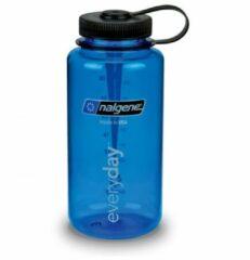 Blauwe Nalgene - Everyday wijde hals 1,0 l - Drinkfles maat 1 l blauw