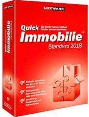 Software LEXWARE QuickImmobilie Standard 2018, für bis zu 30 Wohn- & Gewerbeeinheiten