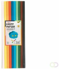 Folia Paper Crepepapier Folia 50x200cm Basis 10kleuren