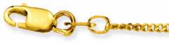 Glow Gouden Ketting Gourmet 38 cm 1.4 mm 201.0338.27