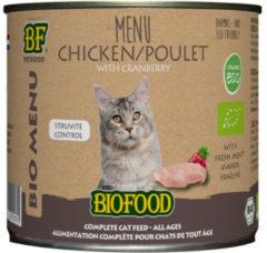 Biofood Bio Organic Menu 200 g - Kattenvoer - Kip Blik