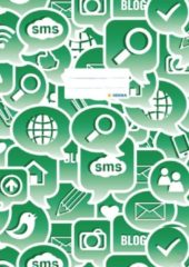 Schriftkaft Herma A4 Social Icons groen
