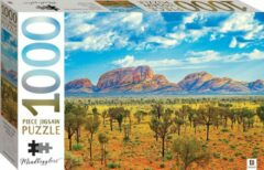 Puzzel - 1000 stukjes - Uluru-Kata Tjuta bergen-Australië Hinkler