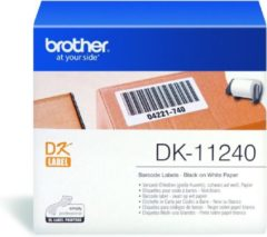 Witte Brother DK-11240 Die-Cut label: 102x51mm - - Barcode label - white (600 labels/roll) only for the QL-1050(N)