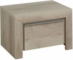 Gamillo Furniture Nachtkastje Sarlat 38 cm hoog in donker eiken