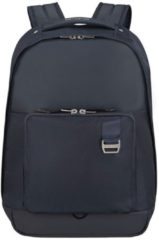 Donkerblauwe Samsonite Rugzak Met Laptopvak - Midtown Laptop Backpack M Dark Blue