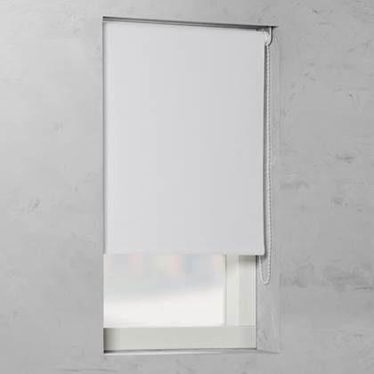 Afbeelding van Witte Pure Living Rolgordijn Verduisterend V1 Bright white 120x275