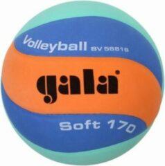 Gala volleybal Jeugd-/Minibal Soft 170g Oranje/Blauw/Groen