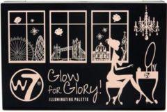 W7 Oogschaduw - Glow for Glory Illuminating Palette