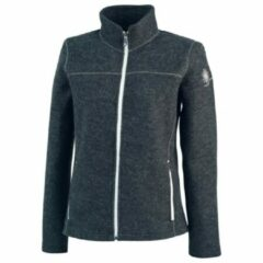 Ivanhoe of Sweden - Women's Beata Full Zip - Wollen vest maat 36, zwart