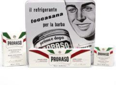 Proraso Giftbox Pre Shave Scheercreme groen Tea