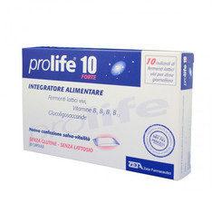 ProLife 10 Forte Fermenti Lattici Vivi con Vitamine 20 Capsule