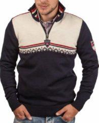 Dale of Norway - Lahti Sweater - Merinotrui maat XL, zwart/wit