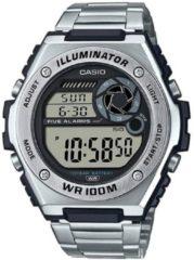 Casio Casio Collection MWD-100HD-1AVEF Horloge - Staal - Zilverkleurig - Ø 45 mm