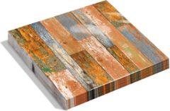 Oranje Dutch Design Brand - Dutch Design Napkins - servetten - Sloophout - Scrapwood