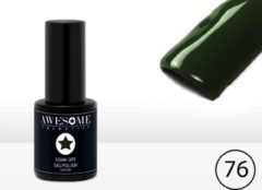 Awesome #76 Donker Groen Gelpolish - Gellak - Gel nagellak - UV & LED