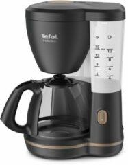 Zwarte Tefal Includeo CM5338 - Filter- koffiezetapparaat