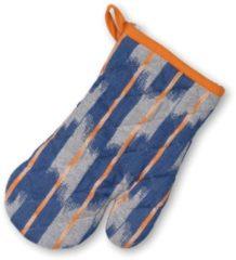 Ovenwant, Oranje / Blauw - Kela | Ethno