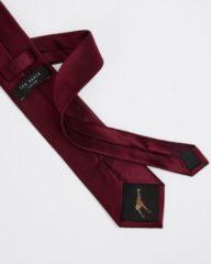 Bordeauxrode Ted Baker Blula stropdas van zijde