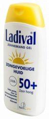Ladival Zongevoelige huid Zonnebrand Gel SPF 50+ 200 ml