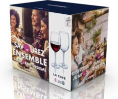 Luminarc 12x Stuks wijnglazen transparant 470 ml - Wijnglas voor rode wijn op voet