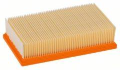 Oranje Bosch Professional Cellulose platte plooifilter 6150 cm², 240 x 140 x 56 mm
