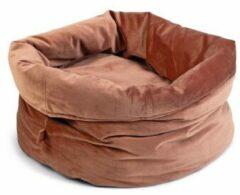 Designed by Lotte Fluco Kattenmand - Fluweel - Roze - 45x45x35 cm