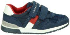 Tommy Hilfiger jongens klittenbandschoen - Blauw - Maat 26
