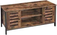 MIRA Home - TV meubel rustiek bruin/zwart - 110x40x50