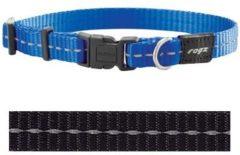 Rogz for Dogs Nitelife Hondenhalsband Verstelbaar Zwart 32 x 1,1 cm