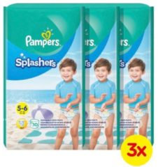 Pampers Splashers maat 5-6 (14+ kg) 30 wegwerpbare zwemluiers
