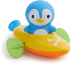 Blauwe Munchkin - Peddelende Pinguïn badspeelgoed - speelgoed baby en peuter