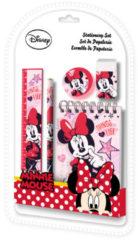 Disney Schoolspullen Minnie Mouse Meisjes Roze 5-delig