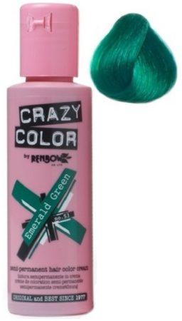 Afbeelding van Groene Crazy Color by Renbow Crazy Color no 53 Emerald groen 100 ml U