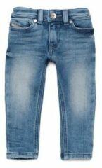 Blauwe Skinny Jeans Diesel SLEENKER