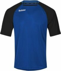 Beltona Sports Beltona Shirt Crystal- kleur -Blauw Zwart- maat -128