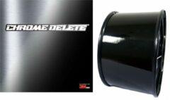 Zwarte 3M™ 2080 Wrap Film Chrome Delete in Black Gloss 20Meter - Autostickers, Wrapfolie, Carwrapfolie