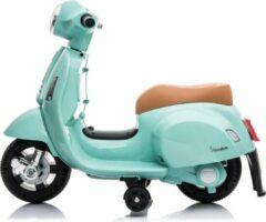 Groene Happy Baby Vespa electrische Mini kinder scooter Mint